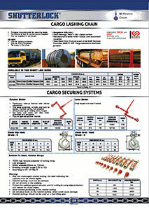 Cargo Securing catalogue page