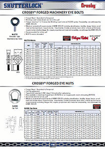 Crosby Eye Bolts & Eye Nuts Page