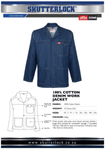 Core Workwear - Cotton Denim Work Jacket