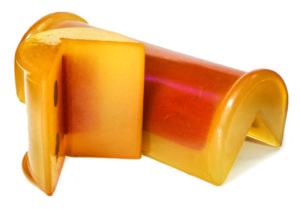 Corner Edge Protector for lashing belt flat webbing compressor