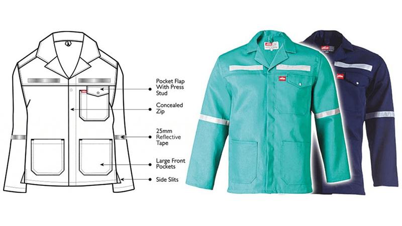 Flame Retardant Work Jacket