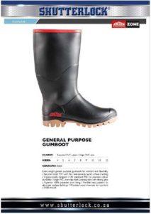 Footwear General Purpose Gumboot