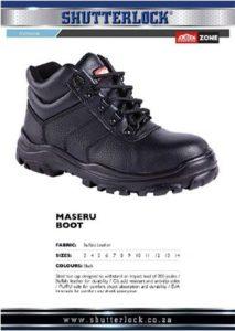 Footwear Maseru Boot