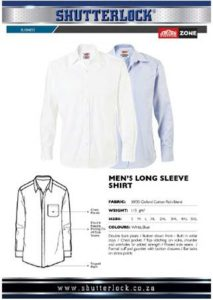 Men's Long Sleeve Shirt Page