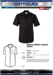Short Sleeve Shirt Polycotton Page