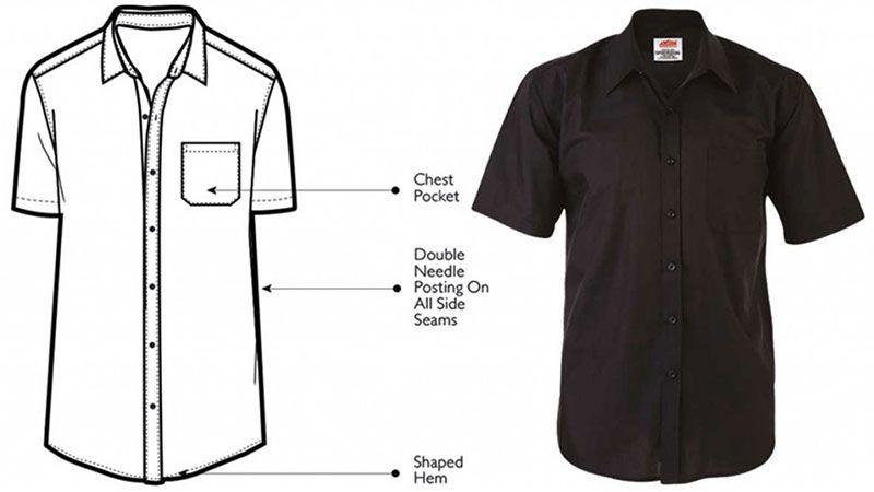 Short Sleeve Shirt Polycotton