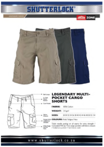 Legendary Khakis Multi pocket shorts