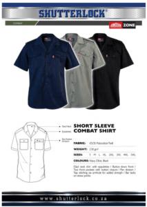 Short Sleeve Combat Shirt Page