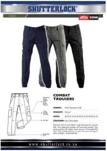 Combat Trouser Page