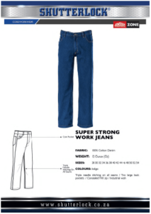 Core Workwear - Super Strong Work Jeans