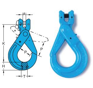 Chain Assemblies grade 10 Clevis Self Locking Hook