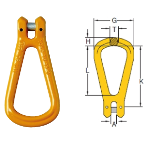 Chain Assemblies Grade 8 Clevis Master Link - Code YG