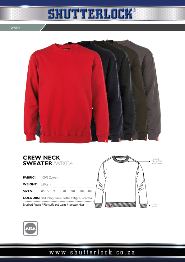 Crew Neck Sweater Page