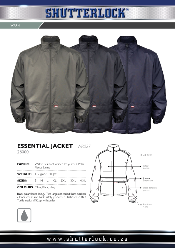 Essential Jacket Page