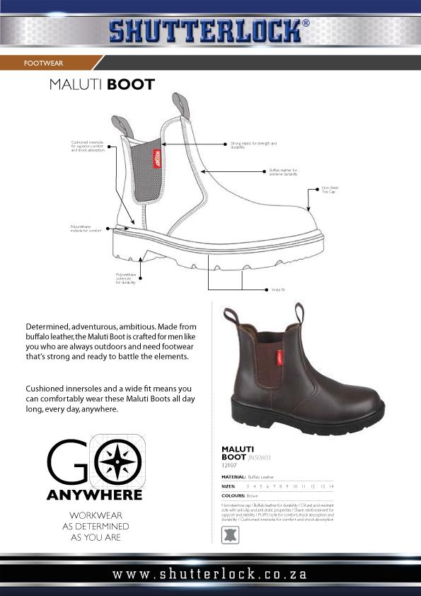 Footwear Maluti Boots