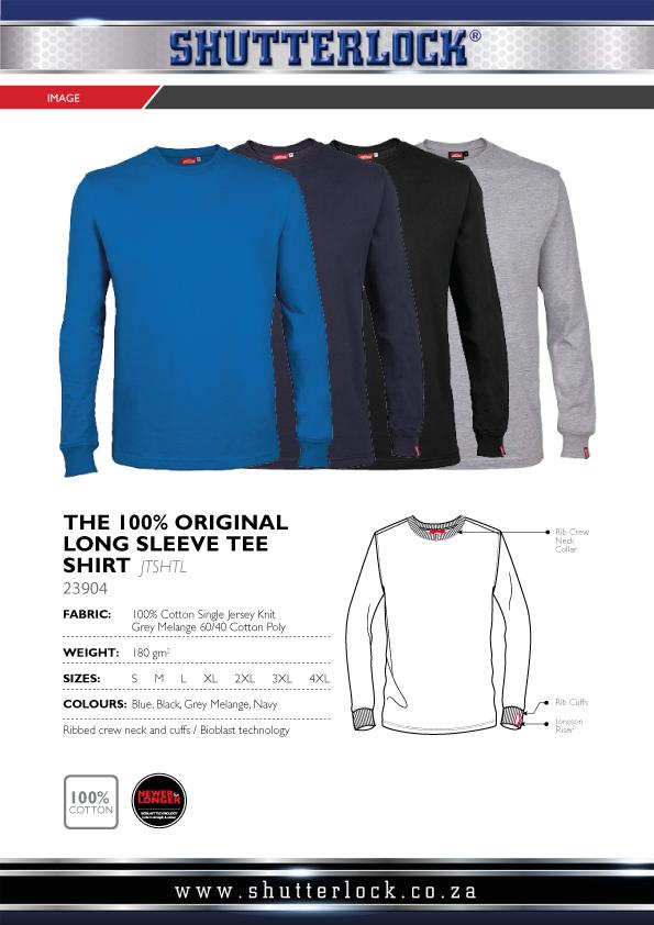 Original Long Sleeve Tee Shirts Page