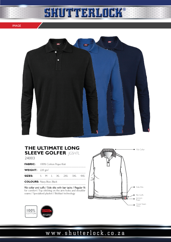 The Ultimate Long Sleeve Golfer Page