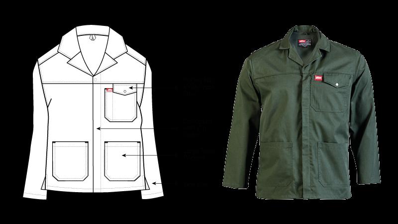 Acid Resistant Conti Jacket