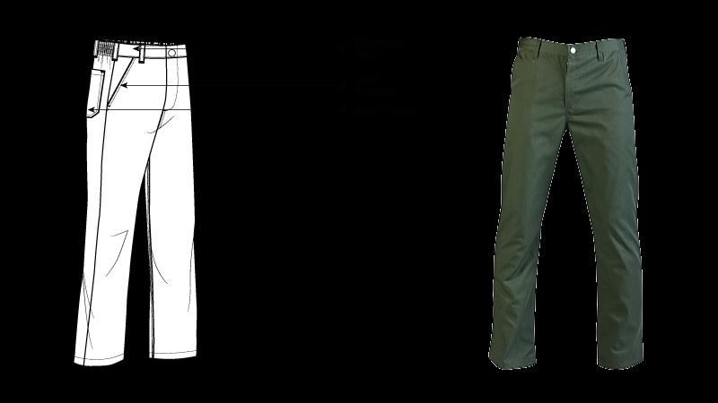 Acid Resistant Conti Trouser