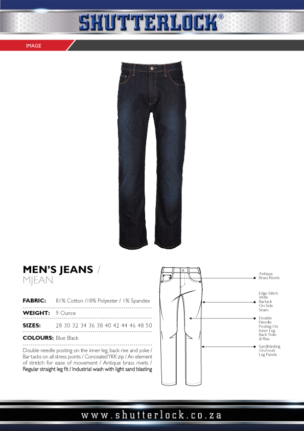 Men's Jeans Page