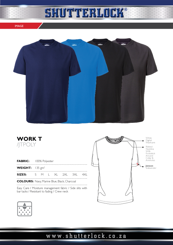 Polyester Work T Page