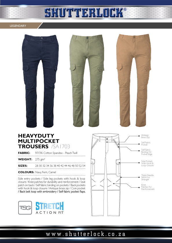 Legendary Khakis Multipocket Trouser Page