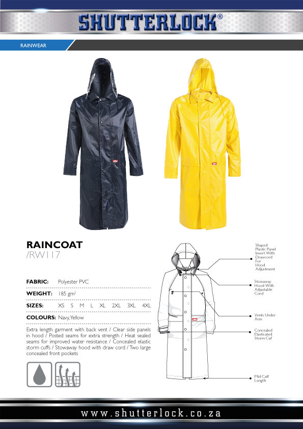 Rain Wear Raincoat