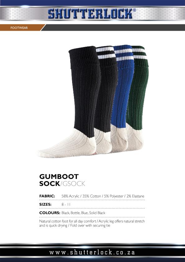 Footwear Gumboot Sock
