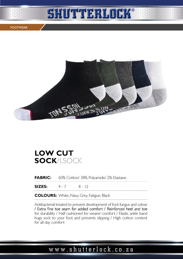 Footwear Low Cut Sock