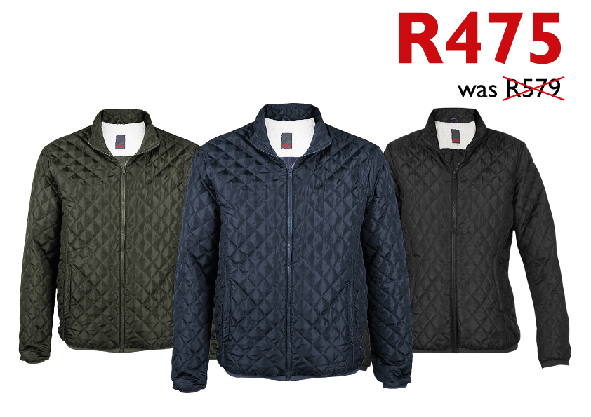 Quilted Sherpa Special Jackets