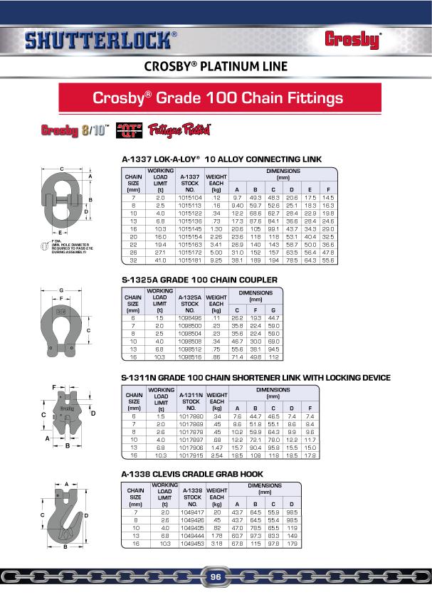 Crosby Platinum Line 6