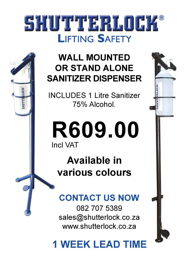 Sanitiser Station Advert