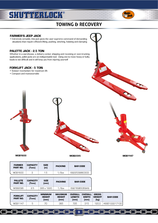 Winches & Pullers Page