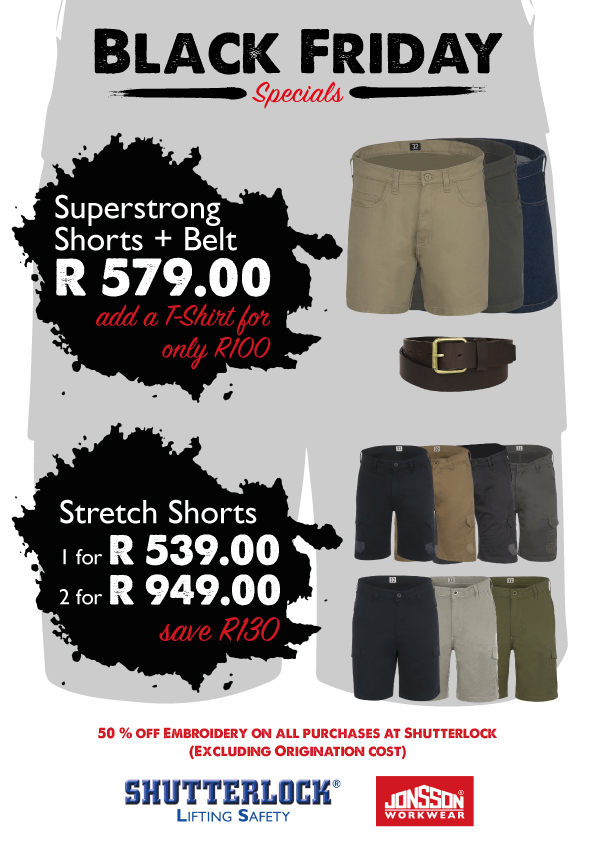 PPE Black Friday Special 2020 Stretch & Super Strong Shorts