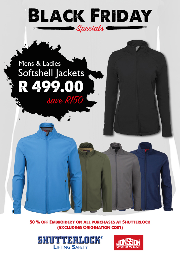 PPE Black Friday Special 2020 Softshell Jacket