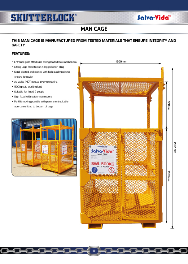 Man Cage Page